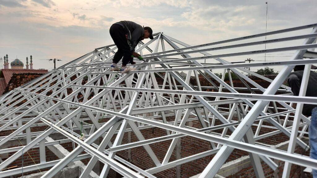 rangka atap baja ringan semarang